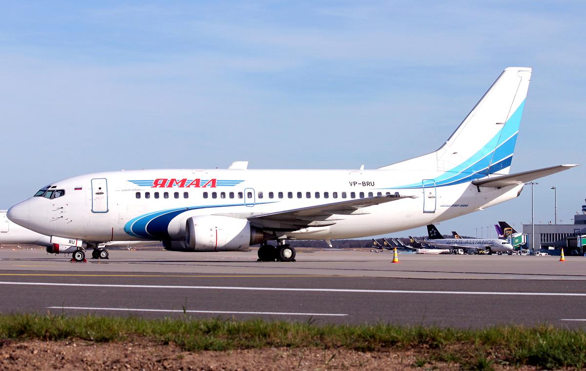 boeing 737500 Ямал Фо�о видео и опи�ание �амоле�а