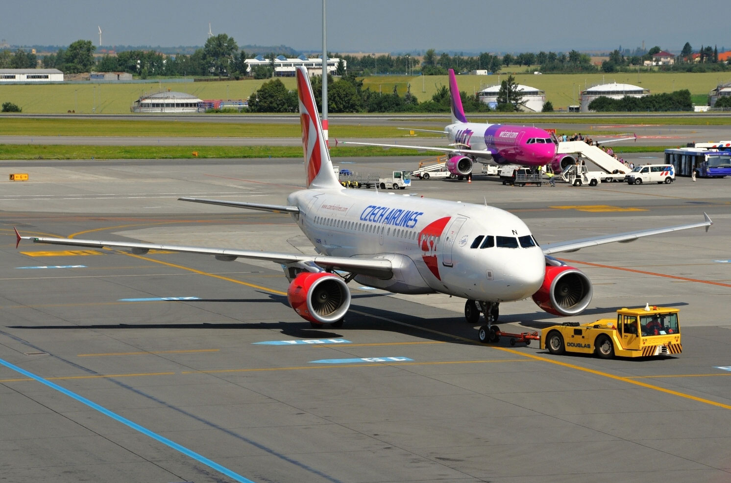 Airbus a319 схема салона чешские авиалинии