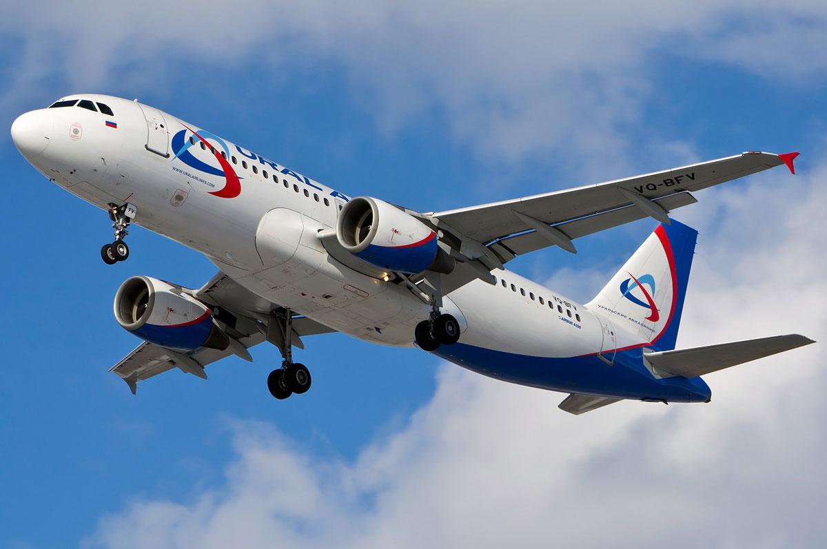 320 аэробус уральские авиалинии