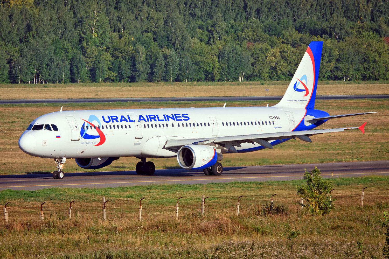 Airbus A321 (Эйрбас А321) - Уральские авиалинии. Фотографии и ...
