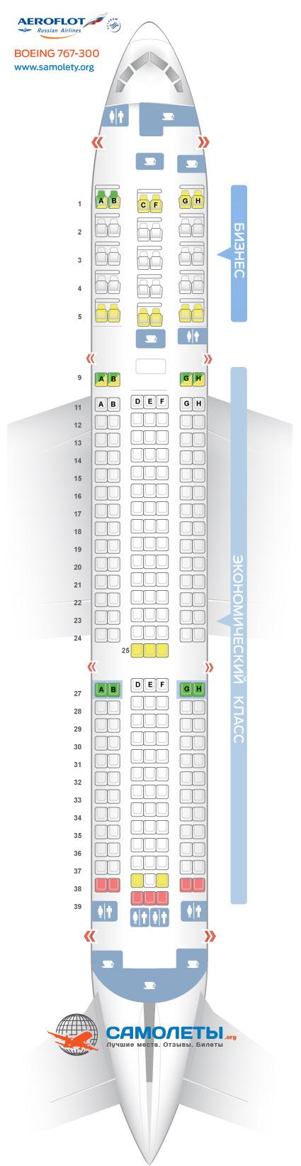 Другие вариации Boeing 767-300