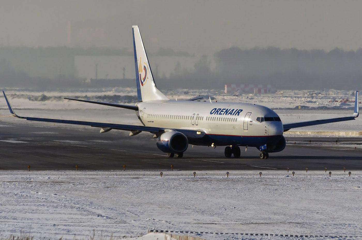 b-737/800 схема салона оренбургские авиалинии