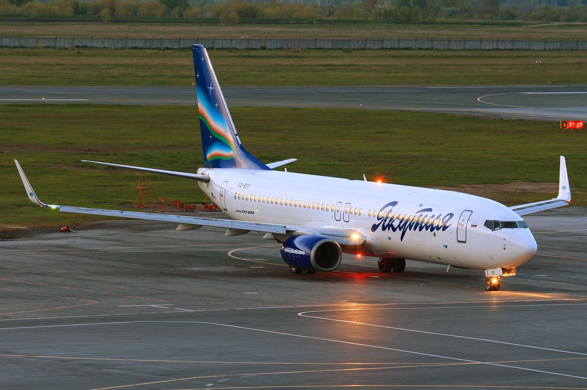 Boeing 737-800 якутия схема салона