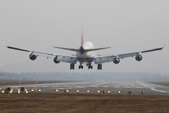 Самолет EI-XLIB Boeing 747-400 Transaero