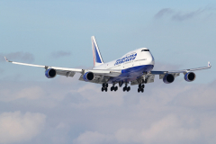 Самолет EI-XLIB Боинг 747-400 Transaero