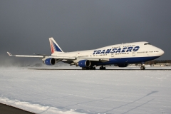 Фотография EI-XLF Boeing 747-400 Трансаэро