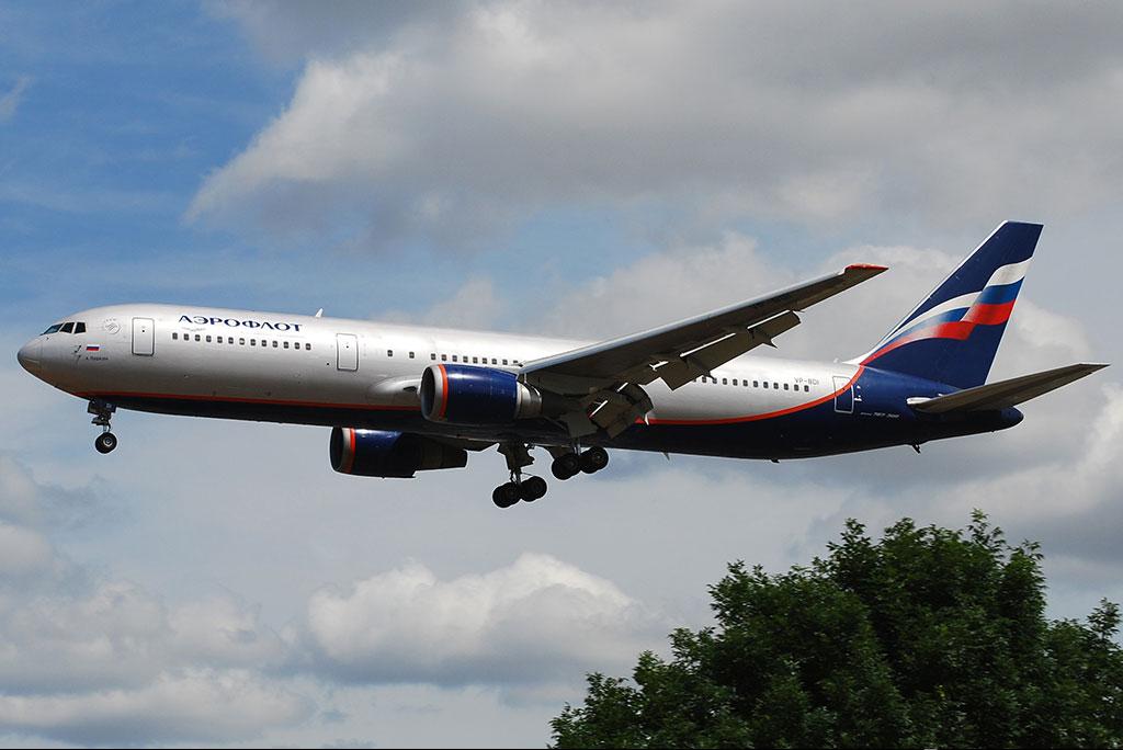 Видео Боинг 767-300.