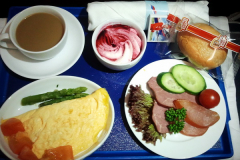Завтрак. Бизнес-класс Аэрофлот