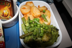 Постное питание на рейсе Тель-Авив - Екатеринбург