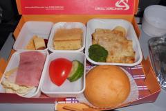 Экономическое питание на рейсе Тель-Авив - Екатеринбург