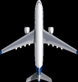 Размах крыльев А330-300