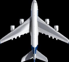 Размах крыльев А380