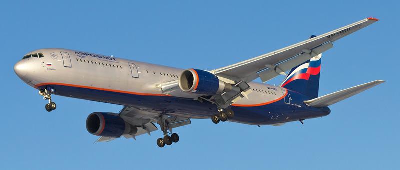 Лучшие места в самолете Boeing 767-300 (Боинг 767-300) Аэрофлот