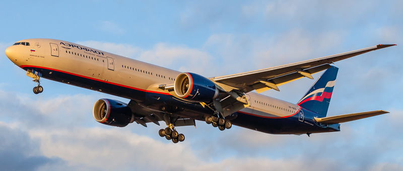 VP-BGD Аэрофлот Boeing 777-300