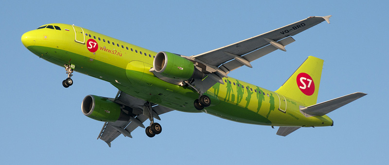 Airbus A320 — S7 Airlines