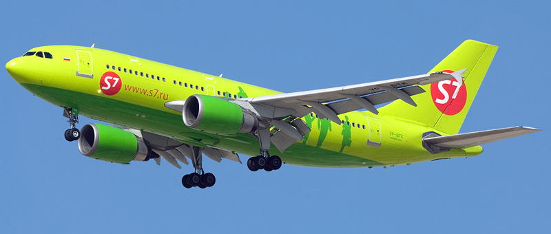 Фотографии Airbus A310-300 — S7 Airlines