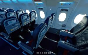 Салон Boeing 737-800 Transaero