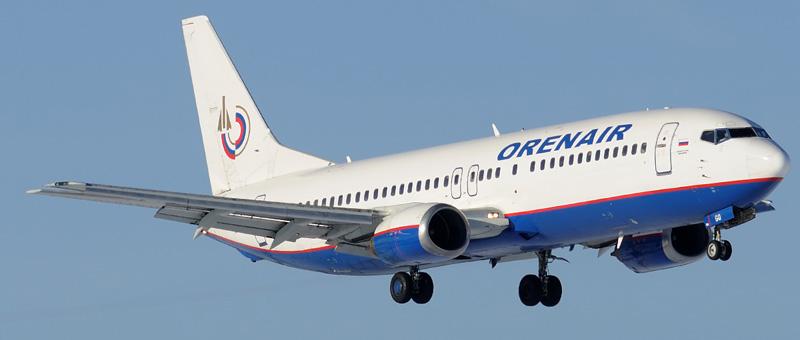Boeing 737-400 (Боинг 737-400) — Оренбургские авиалинии. Фотографии и описание