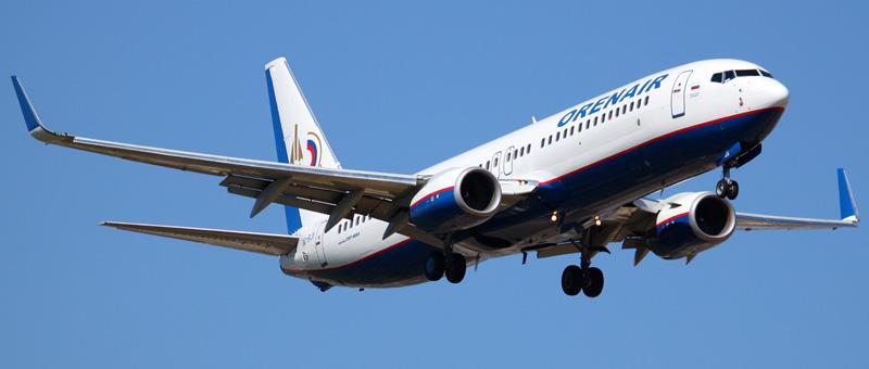 Boeing 737-800 Оренбургские Авиалинии. Фото и описание самолета