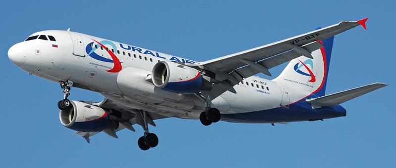 Схема самолета Airbus A319 «