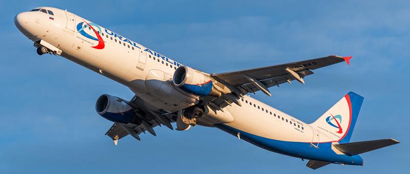 Схема салона и лучшие места Airbus A321 — Уральские авиалинии