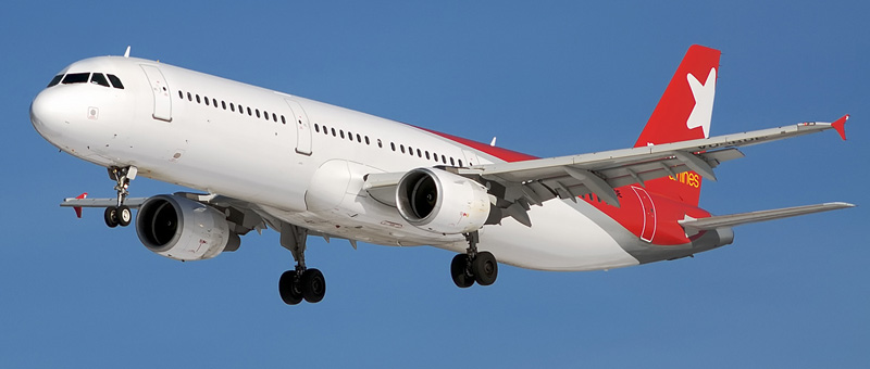 Airbus A321 — «Nordwind Airlines». Лучшие места в самолете