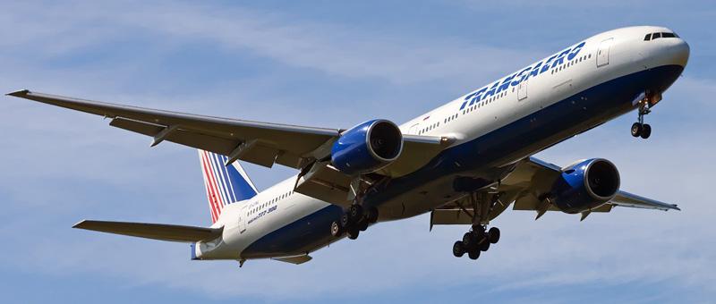 Фотографии Boeing 777-300 (Боинг 777-300) — Трансаэро