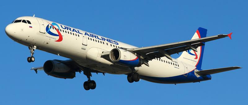 Фотографии Airbus A321 (Эйрбас А321) — Уральские авиалинии