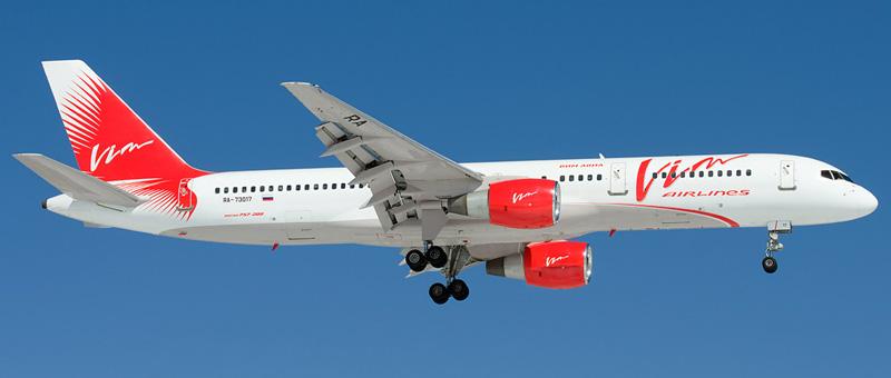 Boeing 757-200 ВИМ-Авиа. Фотографии, видео и описание самолета