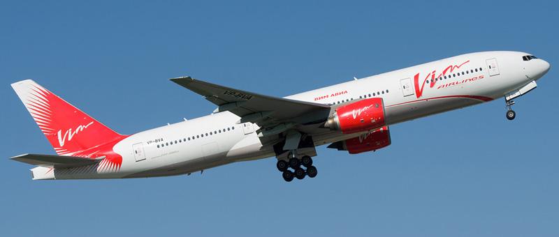 Boeing 777-200 VIM Airlines