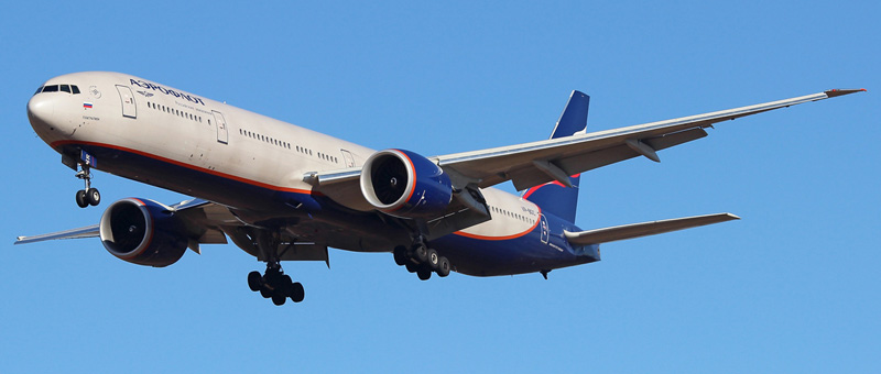 Фотографии Boeing 777-300 (Боинг 777-300) — Аэрофлот