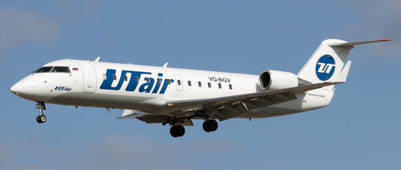 Фотографии Bombardier Canadair Regional Jet (CRJ-200) — Utair