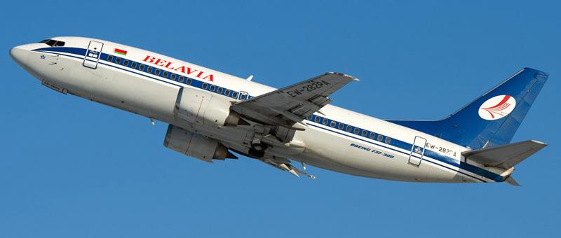 Boeing 737-300 (Боинг 737-300) — Белавиа