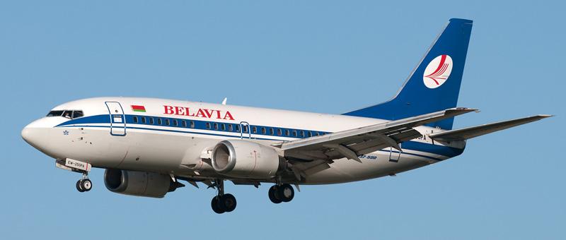 Boeing 737-500 Белавиа