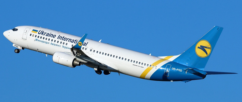 Boeing 737-800NG (Боинг 737-800) — Международные авиалинии Украины