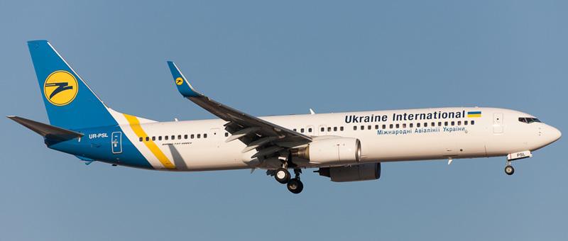 Boeing 737-900NG (Боинг 737-900ER) — Международные авиалинии Украины