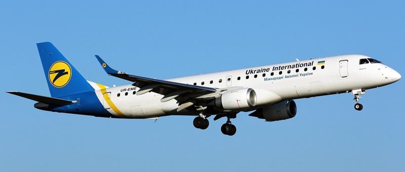 Embraer ERJ-190 — Международные авиалинии Украины