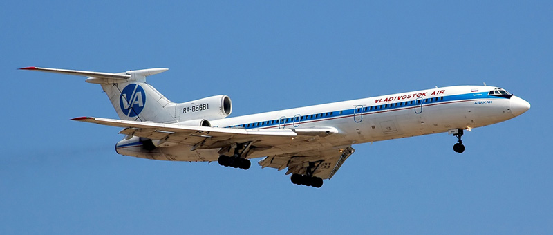 Ту-154M Владивосток Авиа