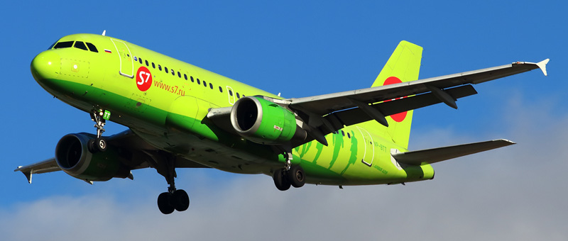 Airbus A319 (Эйрбас А319) — S7 Airlines
