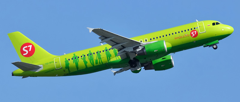 Airbus A320 (Эйрбас А320) — S7 Airlines