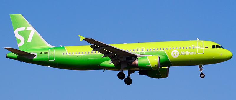 Airbus A320 (Эйрбас А320) S7 Airlines. Фото, видео и описание самолета