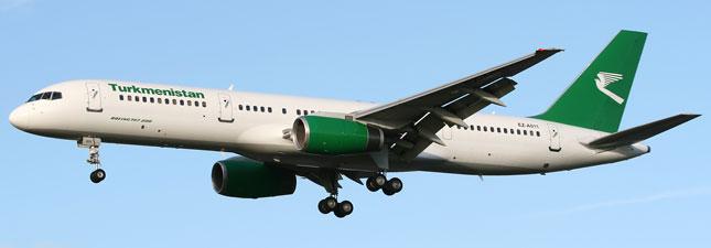 Boeing 757-200 Туркменские авиалинии