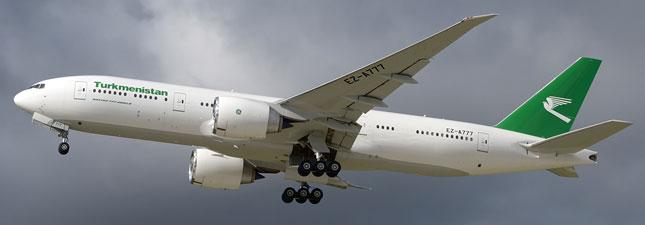 Boeing 777-200 Туркменские авиалинии