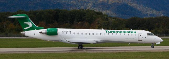Canadair CRJ-700 Туркменские авиалинии