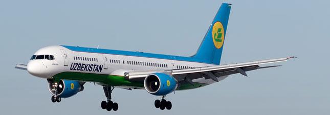 Boeing 757-200 Узбекистанские авиалинии