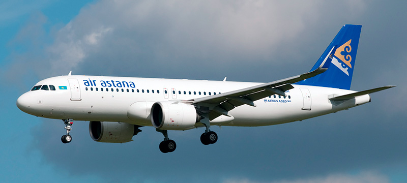 Air Astana Airbus A320neo
