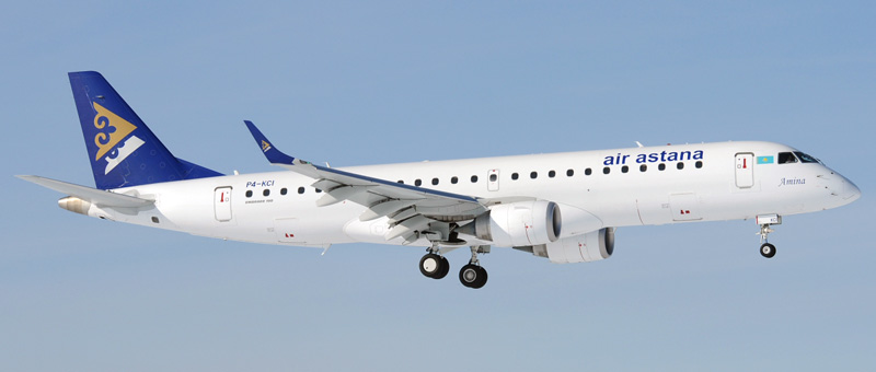 Embraer ERJ-190 Air Astana