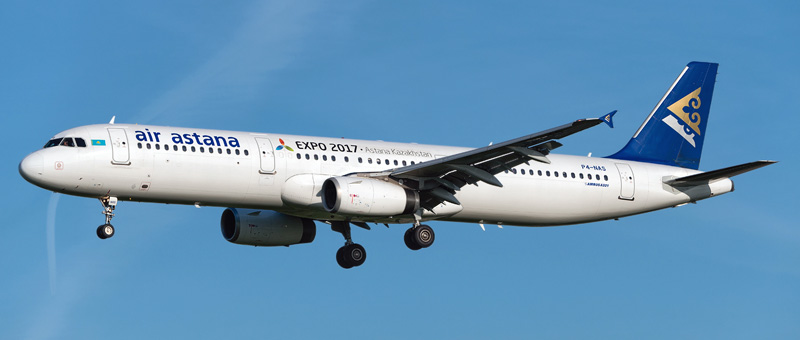 Airbus A321-200 Air Astana