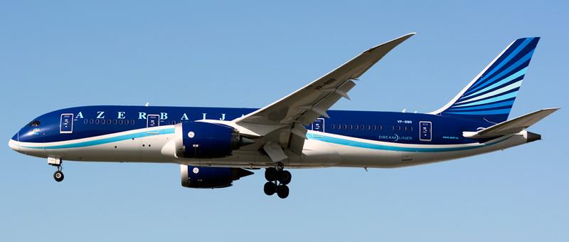 Azal Azerbaijan Airlines Boeing 787-8 Dreamliner