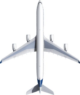 Размах крыльев A340-600